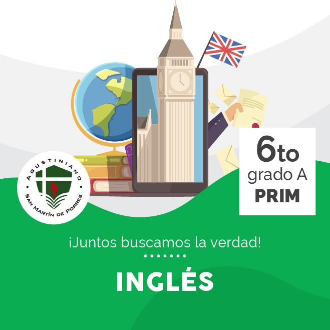 Inglés 6to Grado A