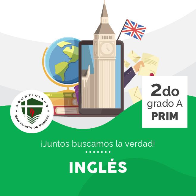 Inglés 2do Grado A