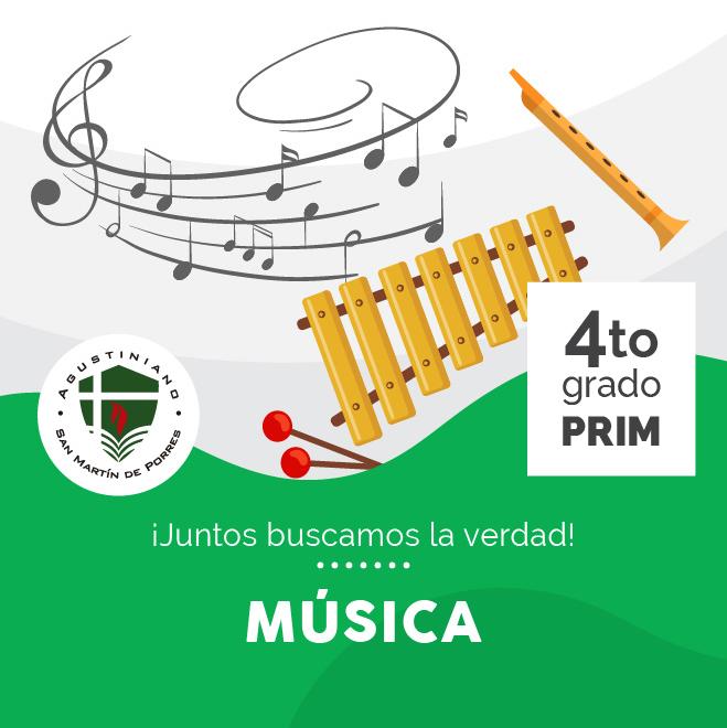 Música 4to Grado