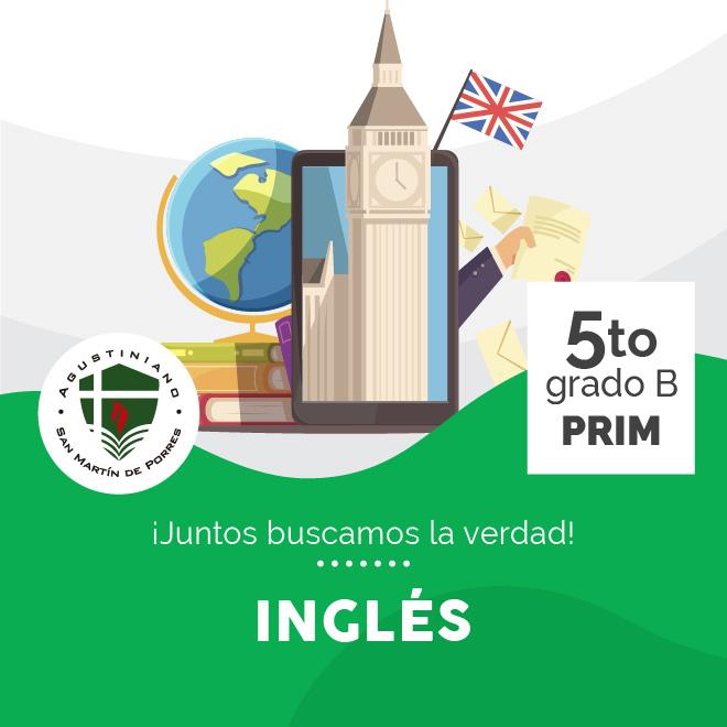 Inglés 5to Grado B